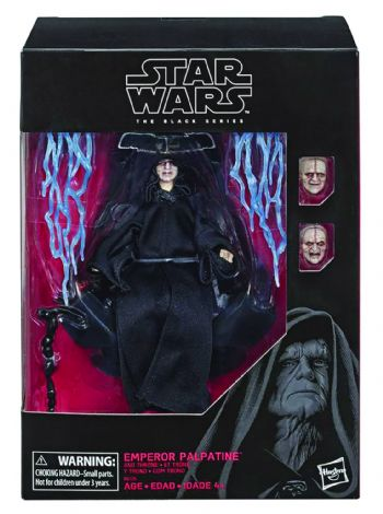 "Star Wars The Black Series Deluxe Emperor on Throne 6"" Action Figure - Pre-Order"
